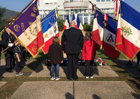 Commémoration à Marange-Silvange