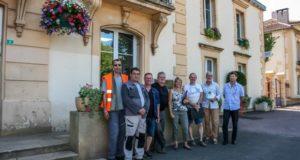 Visite du jury du concours des villes et villages fleuris 2017