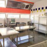 Réfection de la cuisine du foyer Mondon