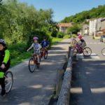 Les Jouveteaux à vélo