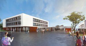 Futur collège à Homécourt