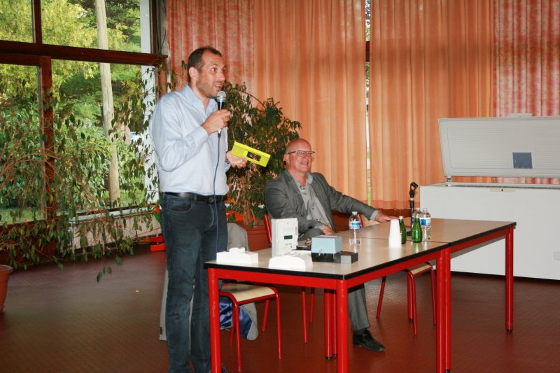 M. Laurent Meric, chargé de mission du programme Linky national
