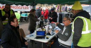 Les Gilets Jaunes sur le marché jovicien - ADP