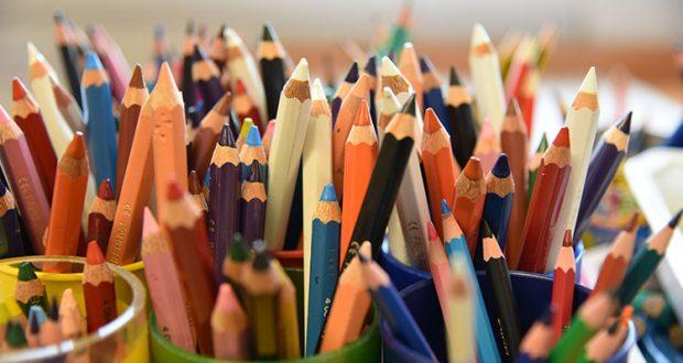 photos de crayons