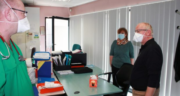 Viste du Maire à la Maison Médicale