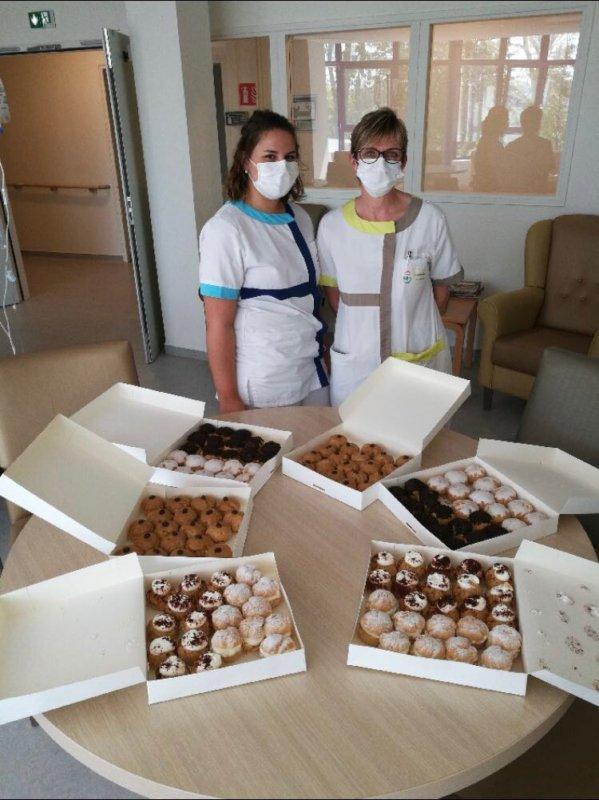 Livraison de pâtisseries dans les résidences séniors