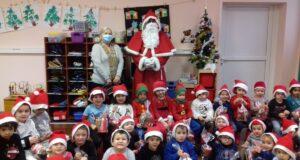 Père Noel dans les écoles