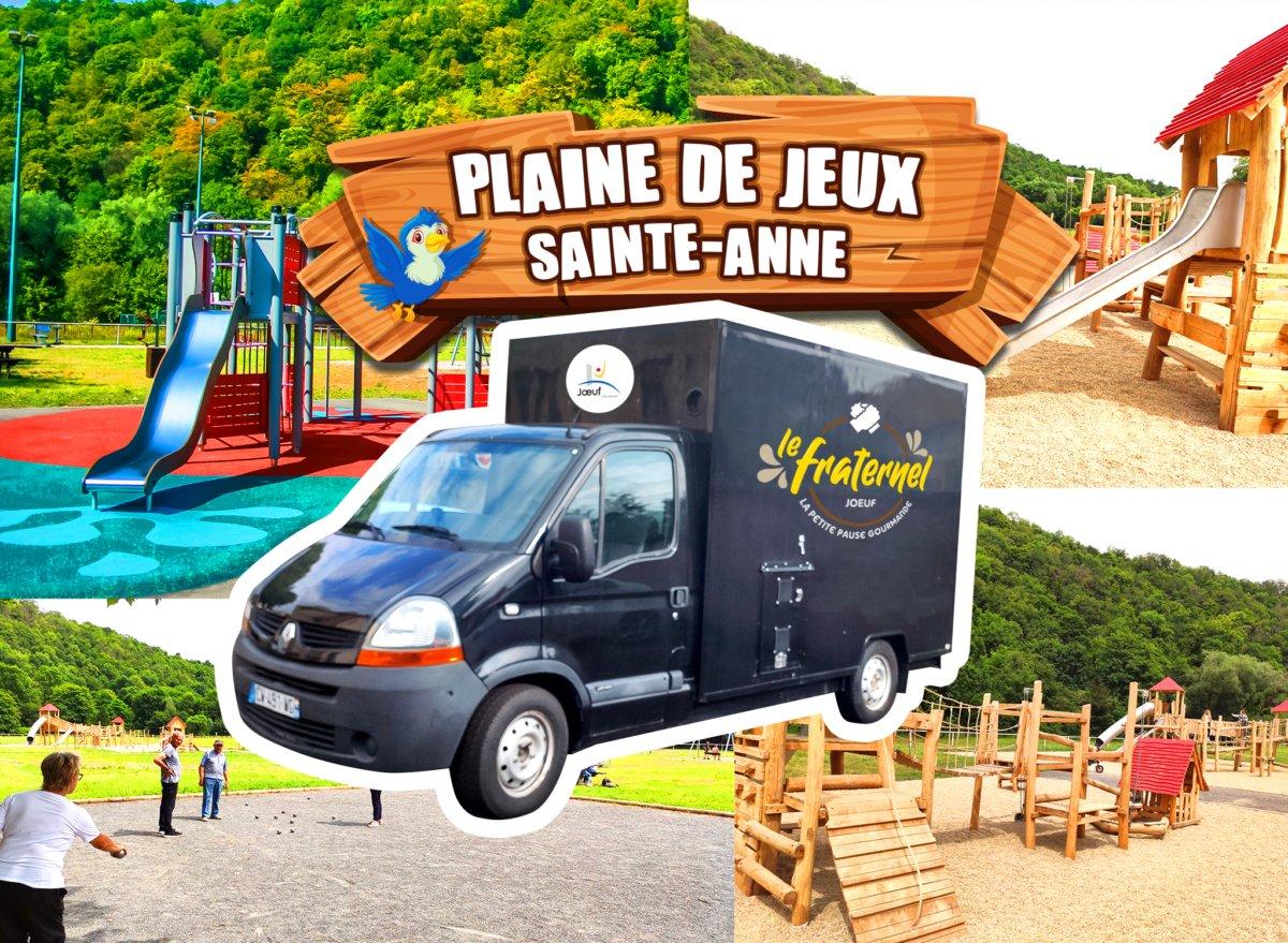 Inauguration du camion de restauration mobile - Le Fraternel