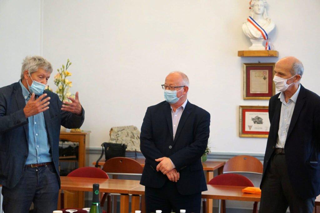 Réception de François de Wendel à Joeuf